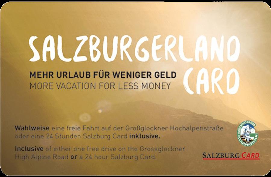 Salzburgerlandcard 2017 Klein