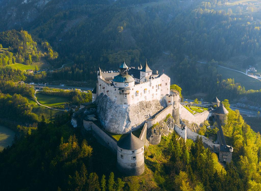 Ausflugsziele im Salzburger Land, Burg Hohenwerfen