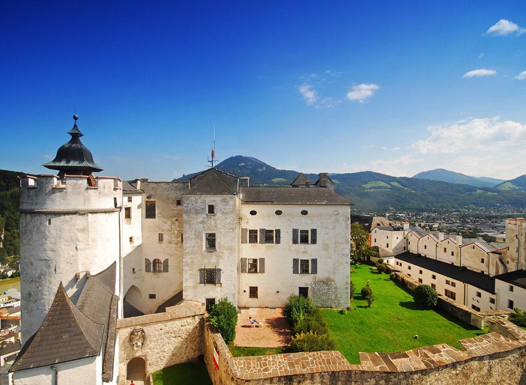 Ausflugsziele Salzburger Land, Innenhof der Festung Hohensalzburg