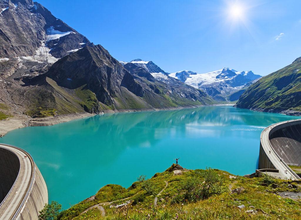 Ausflugsziele Salzburger Land,  Kapruner Hochstauseen