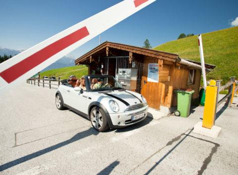 Ausflugsziele Salzburger Land, Postalm Mautstrasse in Abtenau
