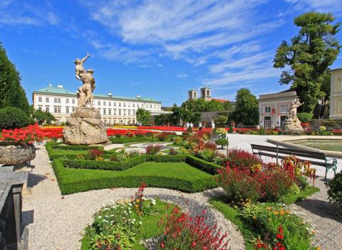Ausflugsziele Schloss Mirabell und Mirabellgarten im Salzburger Land