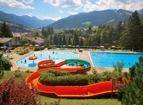 Ausflugsziele im Salzburger Land, Alpenfreibad und Schwimmbad Radstadt
