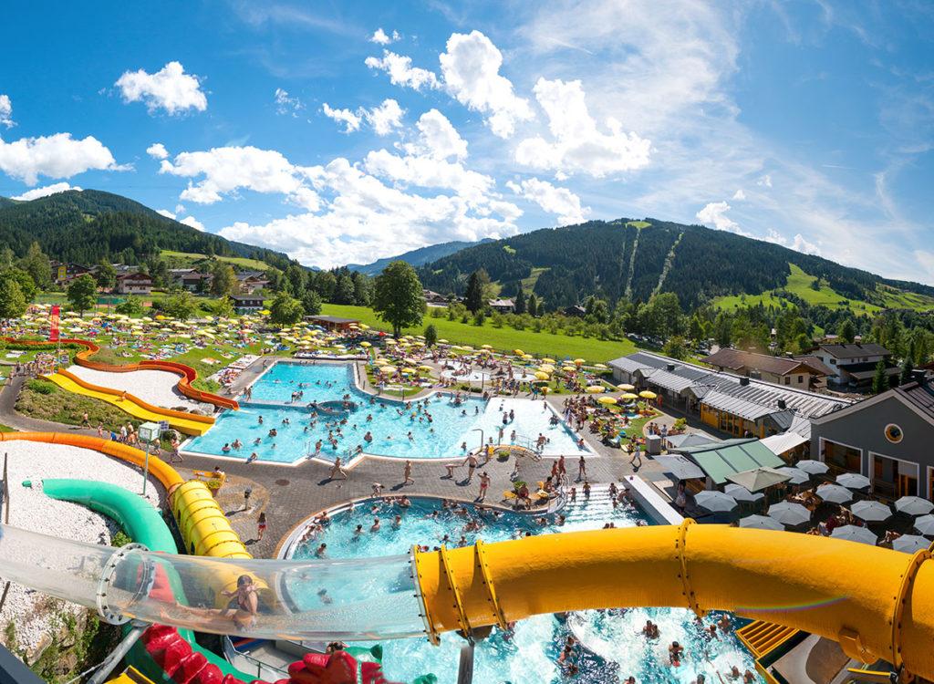 Ausflugsziele Salzburger Land, Wasserwelt Wagrain