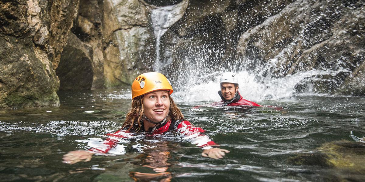 Canyoning - Sommerurlaub im Salzburger Land