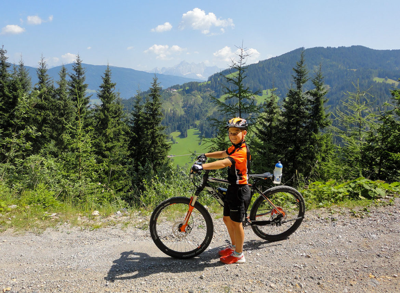 Hauseigener E-Bike-Verleih