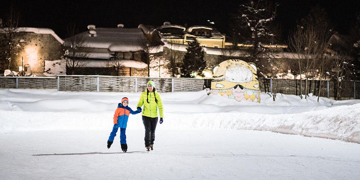 Eislaufen - Winterurlaub in Radstadt, Ski amadé