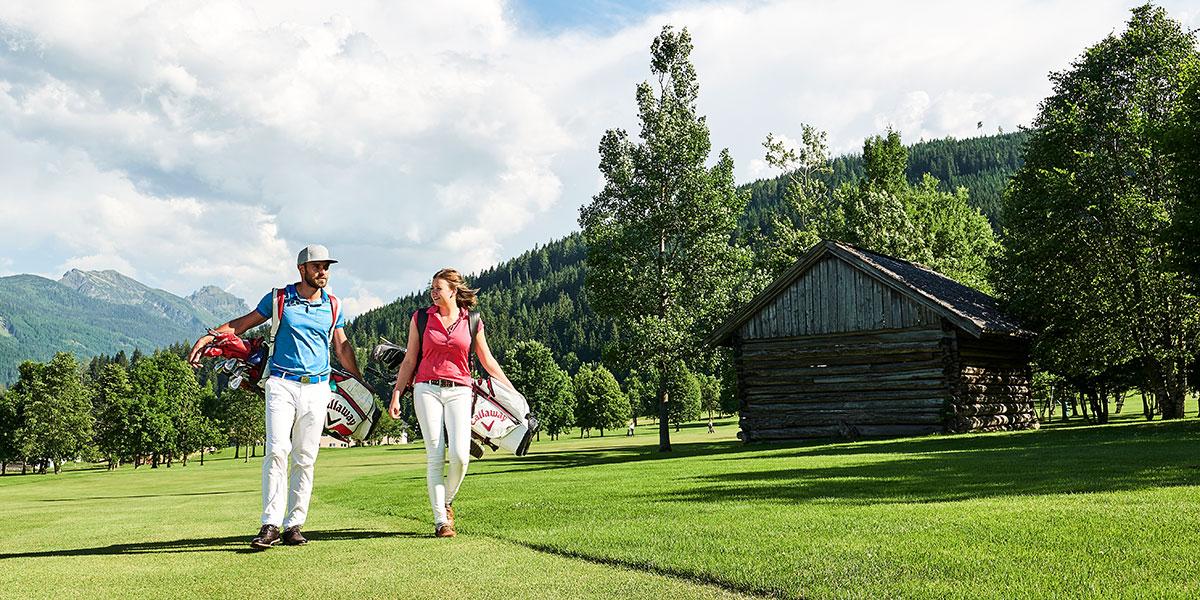 Golf - Sommerurlaub in Radstadt, Salzburger Land