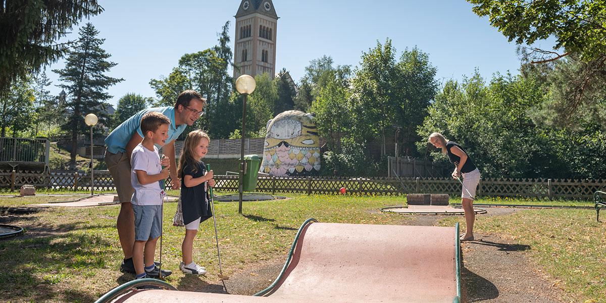 Minigolf - Sommerurlaub in Radstadt, Salzburger Land