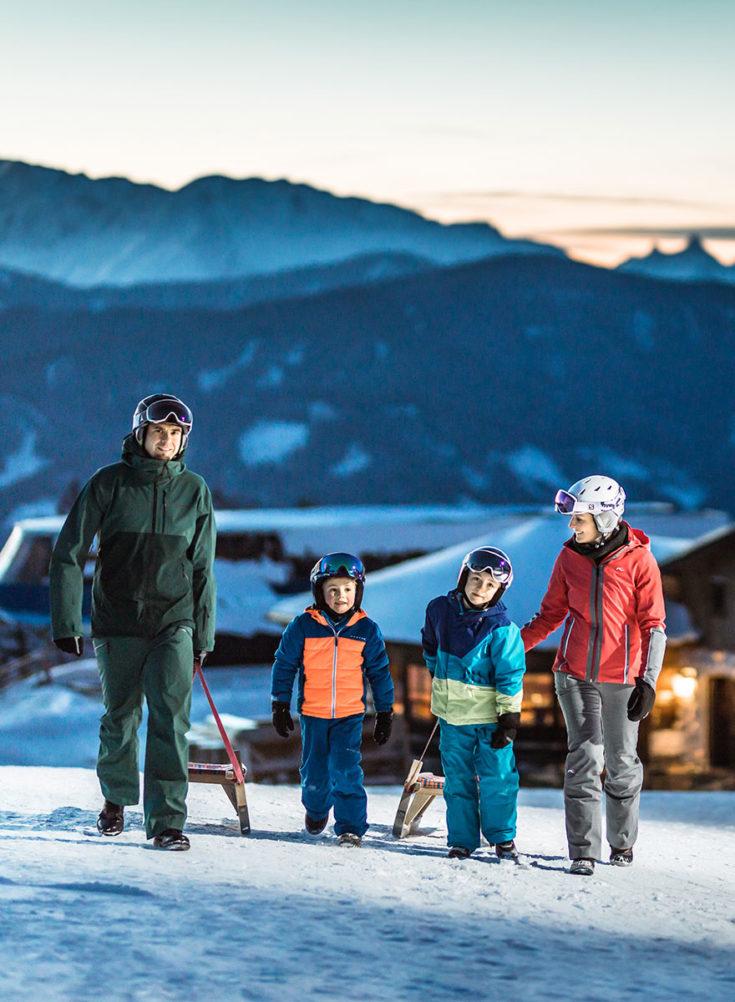 Rodeln - Winterurlaub in Radstadt, Ski amadé