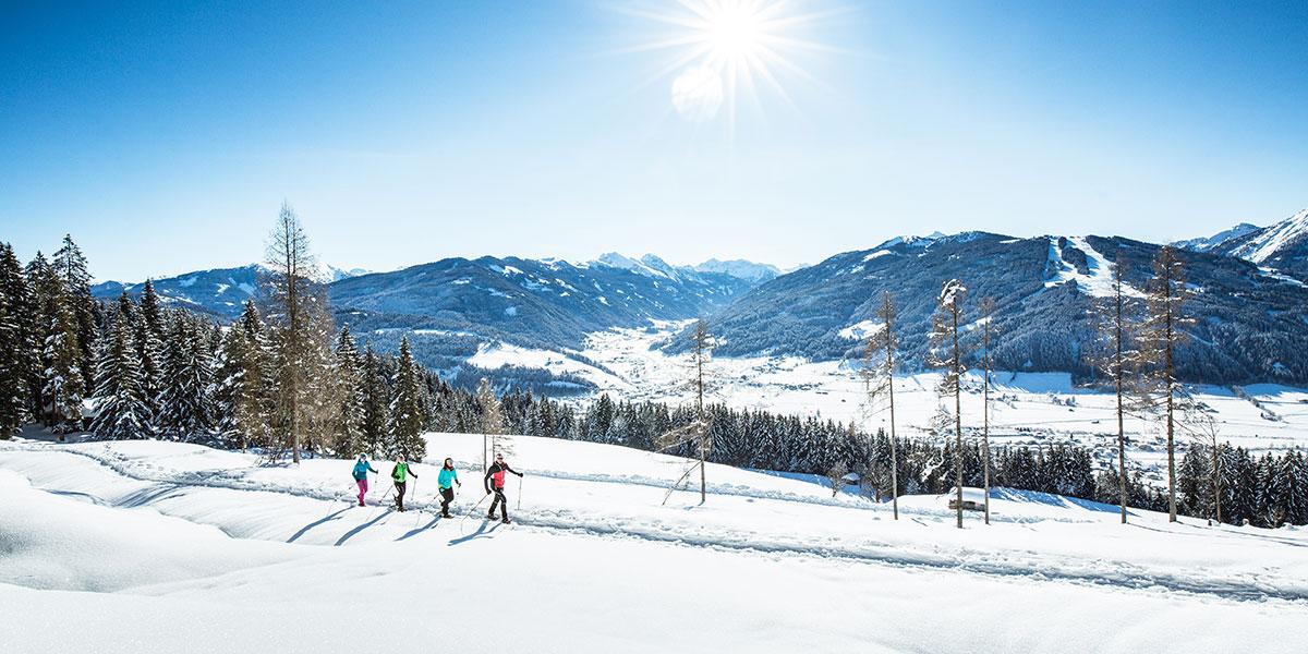 Schneeschuhwandern - Winterurlaub in Radstadt, Ski amadé