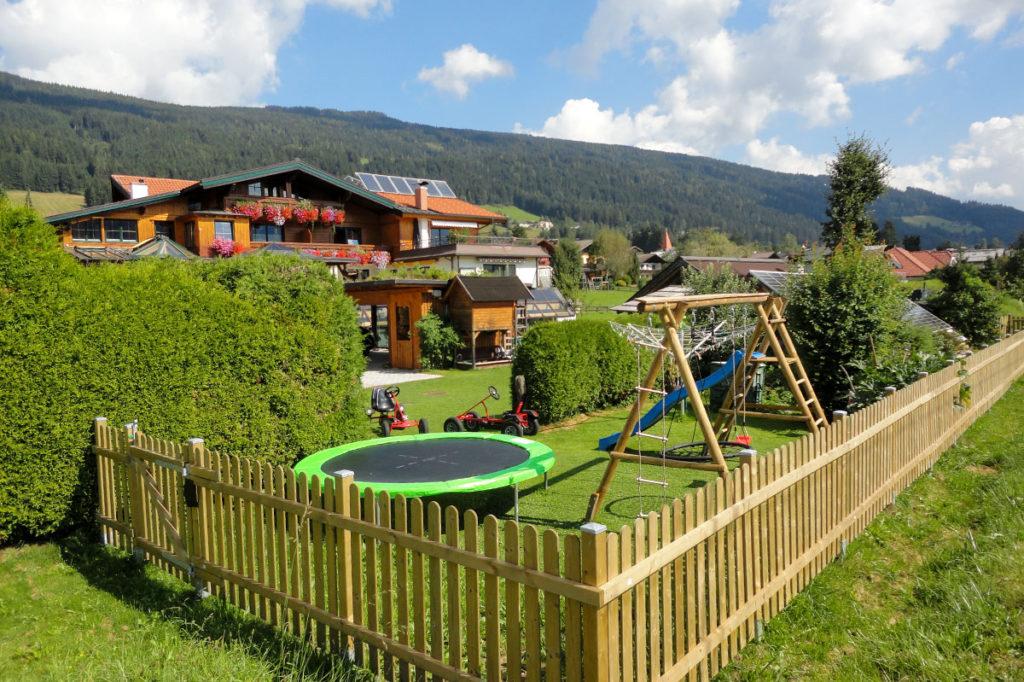 Spielplatz - Haus Reichelt in Radstadt