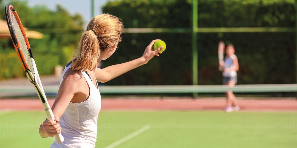 Tennis - Sommerurlaub in Radstadt, Salzburger Land