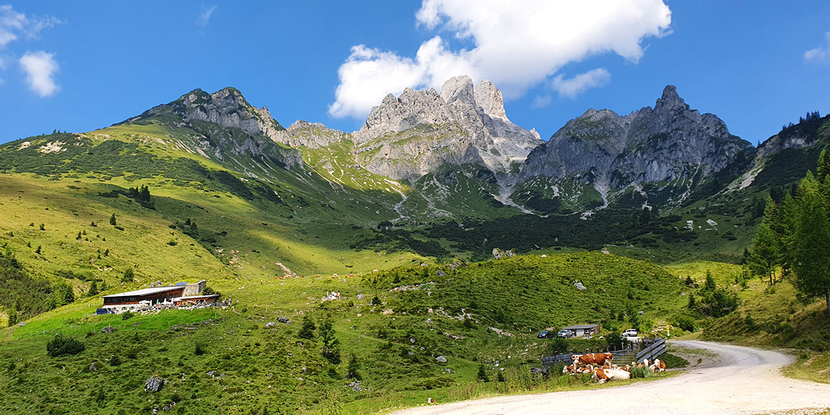 Wandern im Sommerurlaub, Salzburger Land
