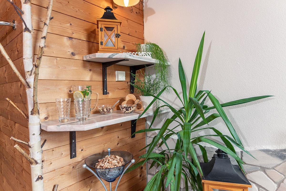 Wellnessbereich im Haus Reichelt